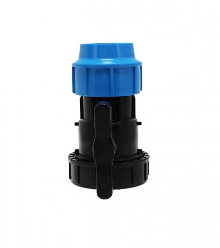 MASTER Ventil poluspojnica PVC U/N fi63 9002