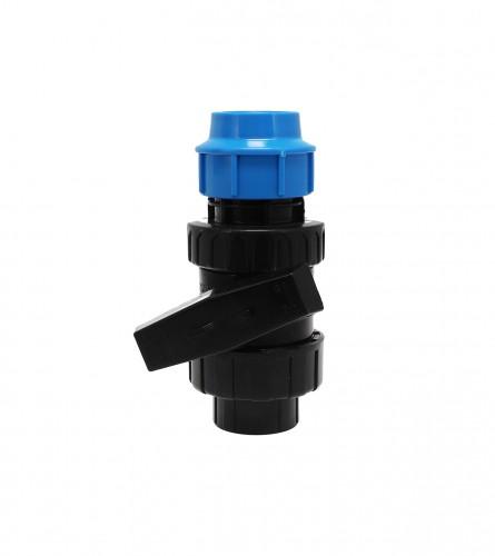 MASTER Ventil poluspojnica U/N PVC fi40x1-1/4 8005