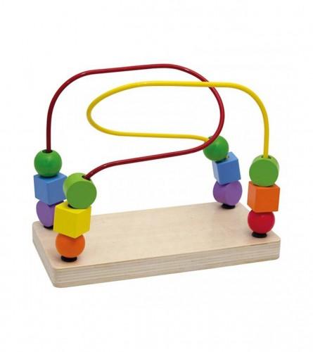 BELUGA Igračka motorička drvene kuglice 257053
