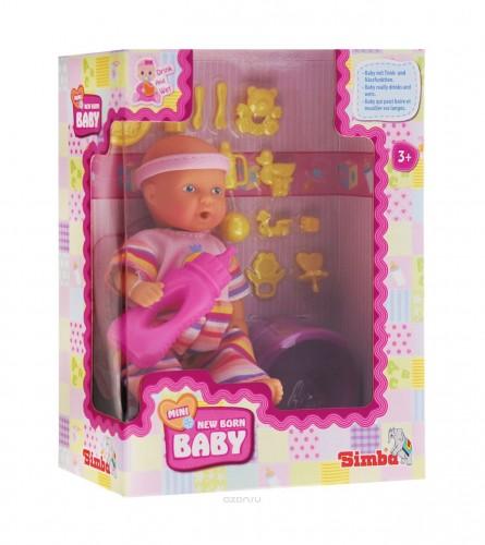 SIMBA Igračka beba ćela sa opremom i funkcijama 426295