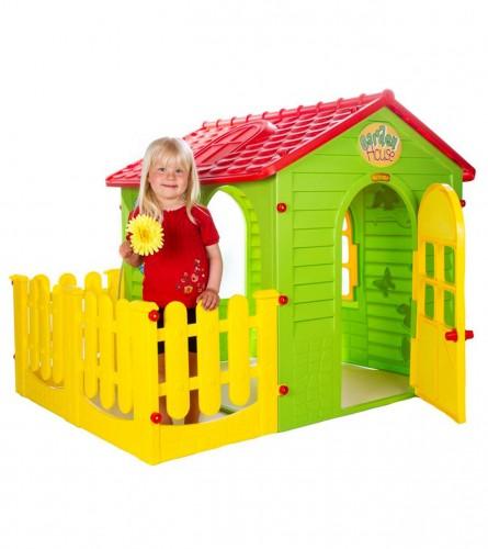GARDEN HOUSE Kućica magična sa ogradicom 10839