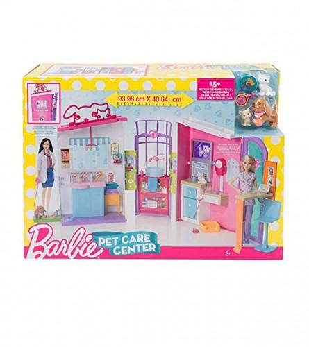 MATTEL Igračka barbie centar za njegu kućnih ljubimaca FBR36