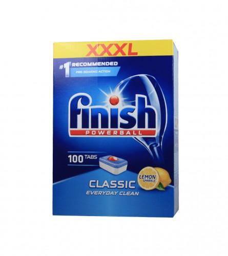 FINISH Tablete za mašinu za suđe Classic lemon 100/1