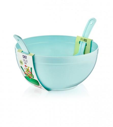 DUNYA PLASTIC Zdjela za salatu sa escajgom 10706