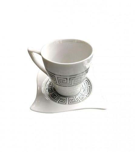 MASTER Šoljice za kafu Premium Silver 12/1 01190178
