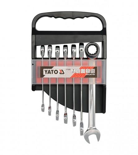 Ključevi V-O SET 7/1 10-19mm YT-0208