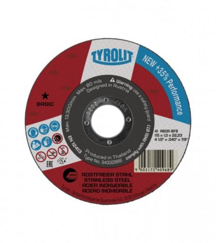 TYROLIT Ploča rezna 125x1mm INOX 34332869