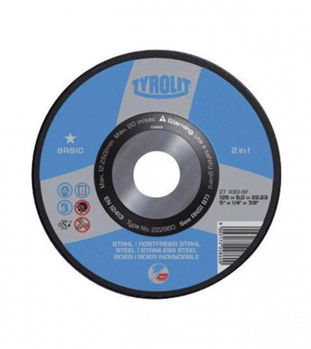 Ploča brusna 178x6mm ČELIK+INOX 297331