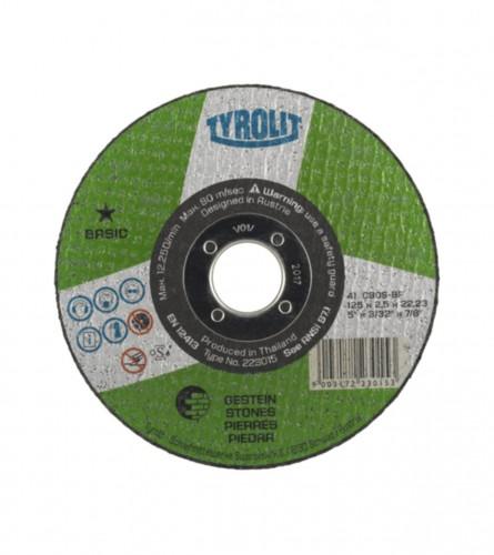 TYROLIT Ploča rezna 125x2,5mm KAMEN 223015