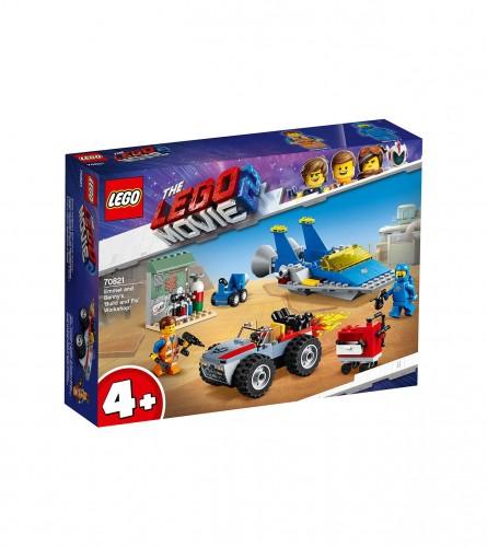 Igračka Lego movie radionica sa Emetom i Benijem 70821
