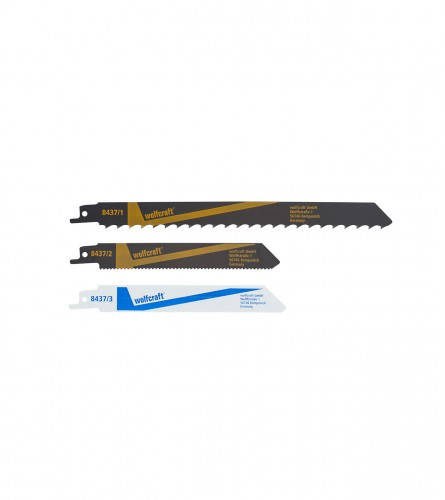 WOLFCRAFT List sabljaste pile za drvo i metal 3/1 8437000