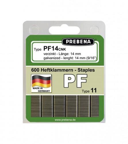 PREBENA Municija za klamericu HPPF14 14mm 600/1