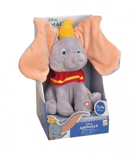 DISNEY Igračka plišana Slon sa zvukom i pokretima DUMBO