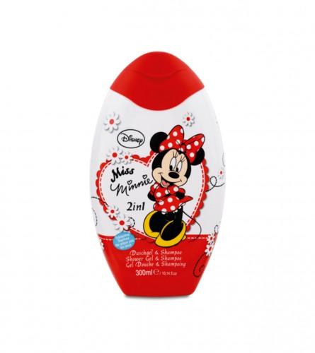 DISNEY Šampon i gel za tuširanje Miss Minnie 300ml