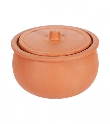 FAMIPA Zdjela glinena za pečenje sa poklopcem L