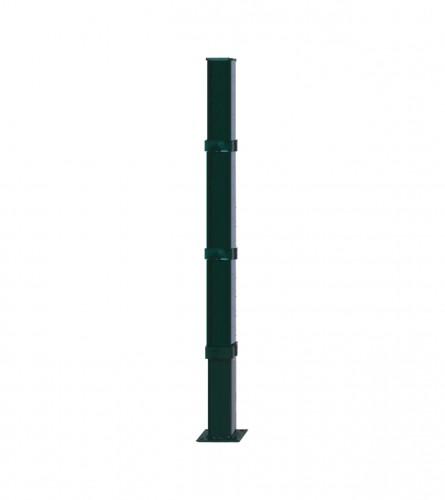 MASTER Kolac za ogradu 2000mm sa postoljem zelena 50x50