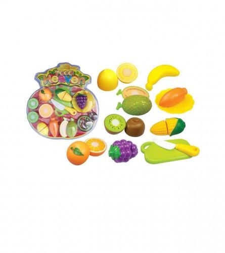 MASTER Igračka voće s nožem za rezanje JQ111102C