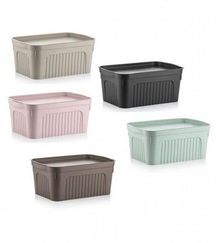 DUNYA PLASTIC Kutija za odlaganje 8l PVC Dunya 006432