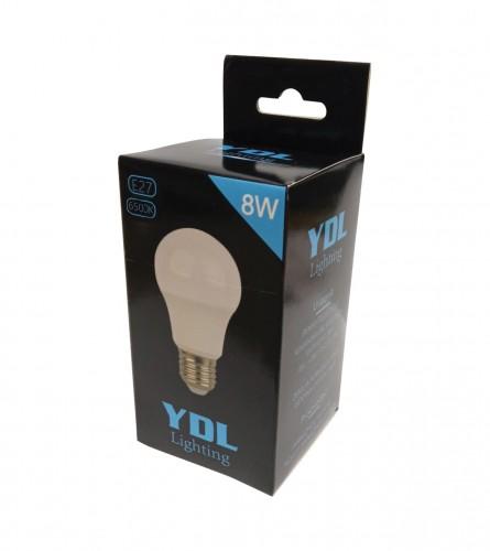 MASTER Sijalica LED E27 8W YDL-A55-IV-6400