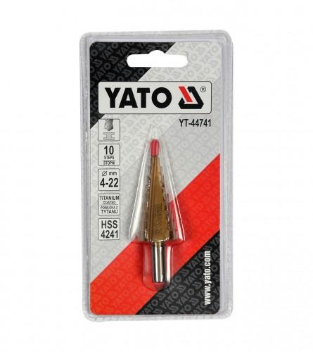 YATO Borer stepenasti 4-22mm YT-44741