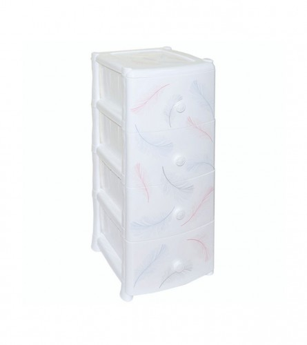 VIOLET Komoda PVC 0352 Bijela