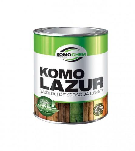 KOMOCHEM Boja za drvo aqua komolazur 0,75l ebanovina