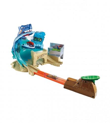 MASTER Igračka staza morsko čudovište sa autom hot wheels city Mattel 163042