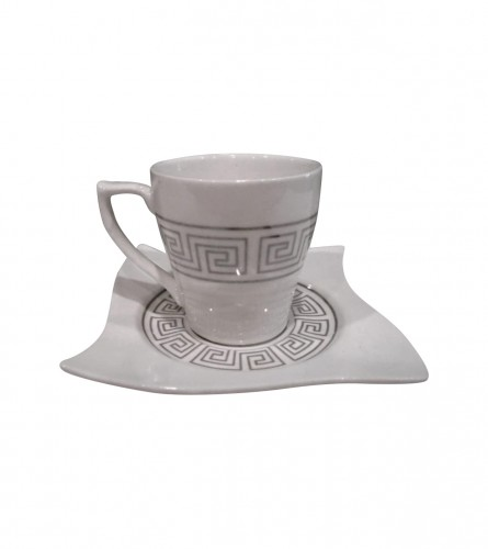 MASTER Šoljice za kafu 12/1 Premium Silver 01200085