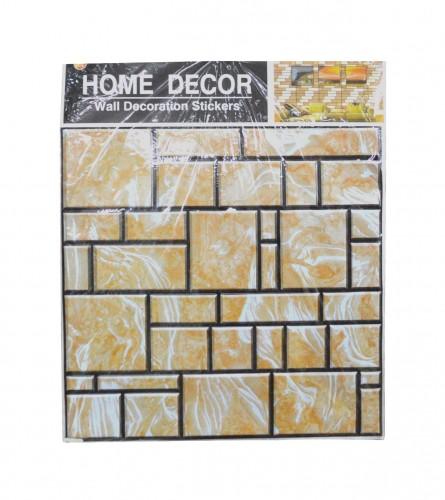 MASTER Naljepnice za zid 50x50 žuta cigla 01200224