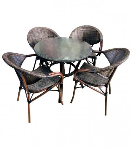 MASTER Sto i 4 stolice 0125B