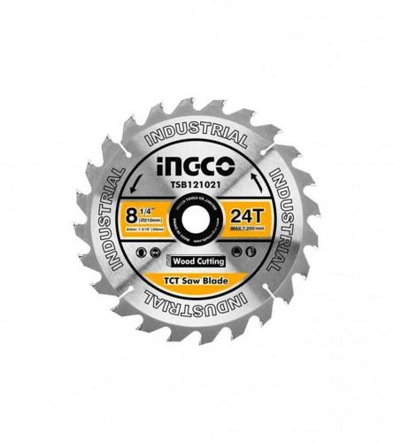 INGCO TOOLS Ploča rezna za drvo 210mm-25,4mm TSB121021