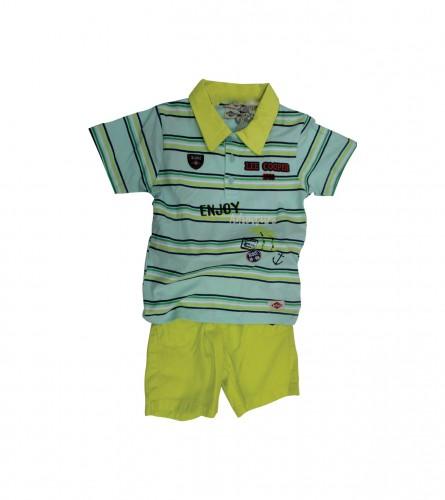 MASTER Baby set dječiji muški šorc+majica LC IK1432
