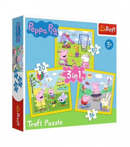 MASTER Igračka puzzle Pepa Pig 3/1 307849