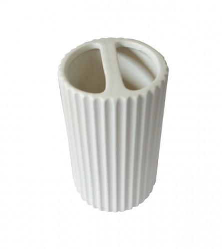 MASTER Držač za četkice za zube bijeli kamen 01200829