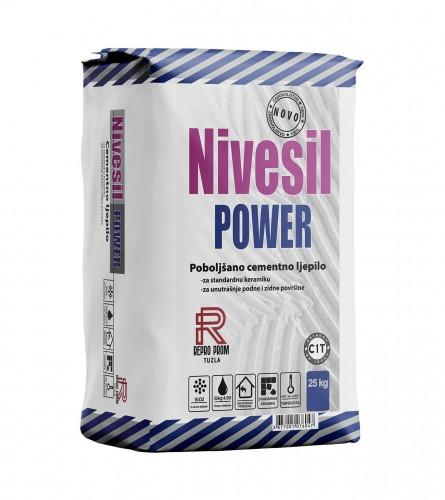 REPRO PROM Ljepilo za pločice Nivesil power 25/1