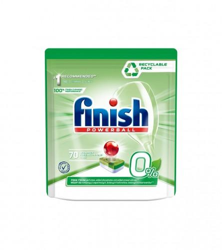 FINISH Tablete za pranje posuđa ECO 0% 70/1