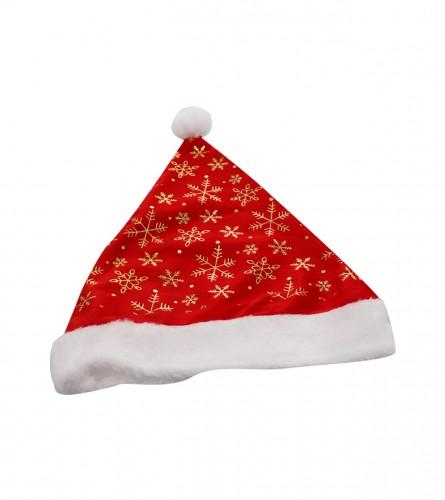 MASTER Kapa novogodišnja crvena pahulje 01200142
