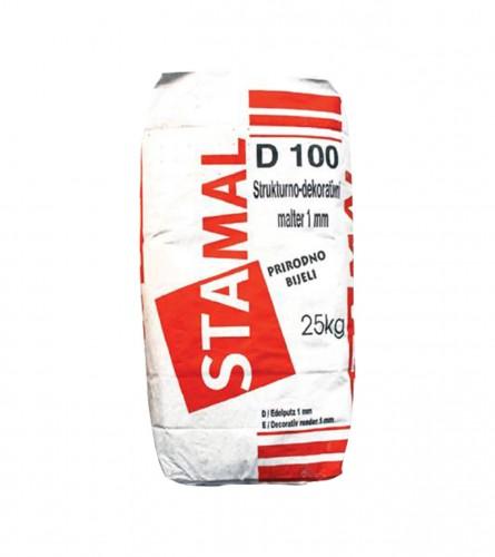 STAMAL Malter završni fasadni Extra bijeli D100 25kg