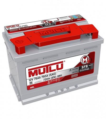 MUTLU Akumulator 12V-75Ah KP L3.75.072.B