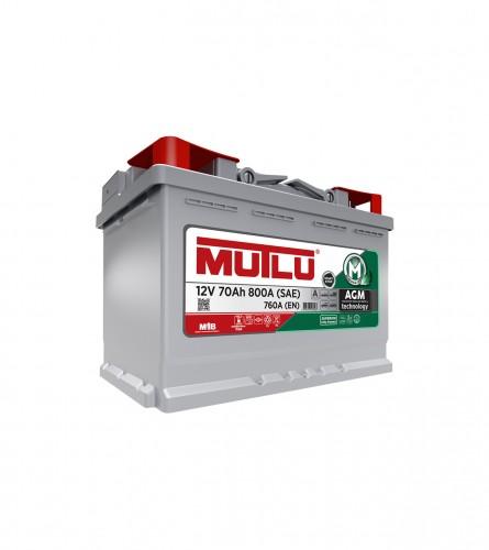 MUTLU Akumulator 12V-70Ah Start-Stop AGM.L3.70.076.A