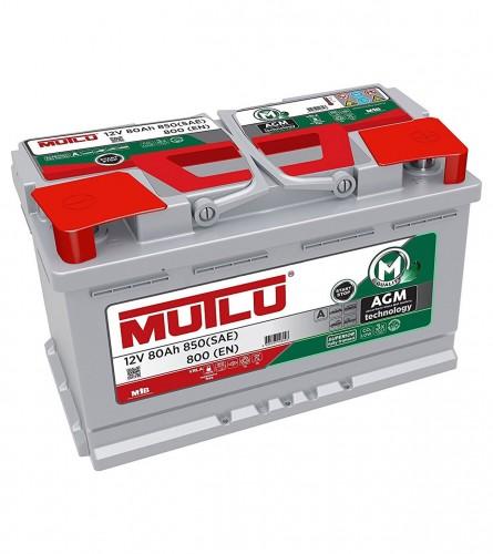 MUTLU Akumulator 12V-80Ah Start-Stop AGM.L4.80.080.A