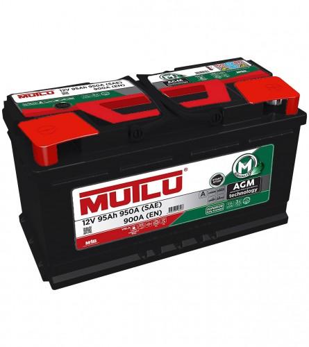 MUTLU Akumulator 12V-95Ah Start-Stop AGM.L5.95.090.A
