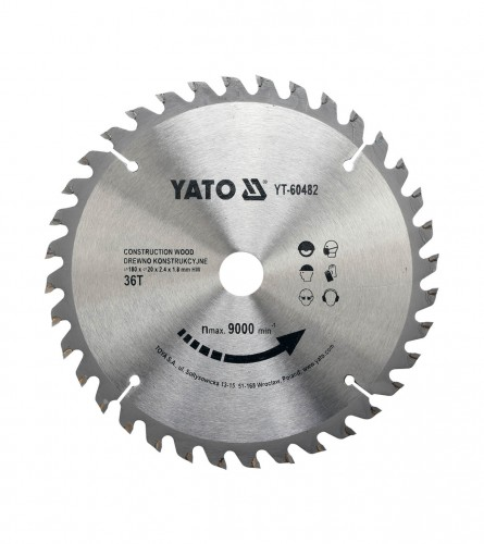 YATO List kružne pile za drvo 180x20 YT-60482