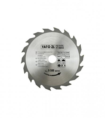 YATO List kružne pile za drvo 160x20 YT-6055