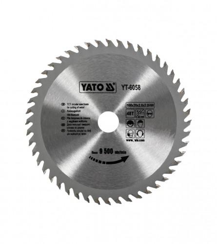 YATO List kružne pile za drvo 160x20 YT-6058