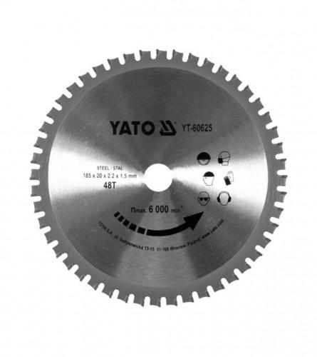 YATO List kružne pile za metal 185x20 YT-60625
