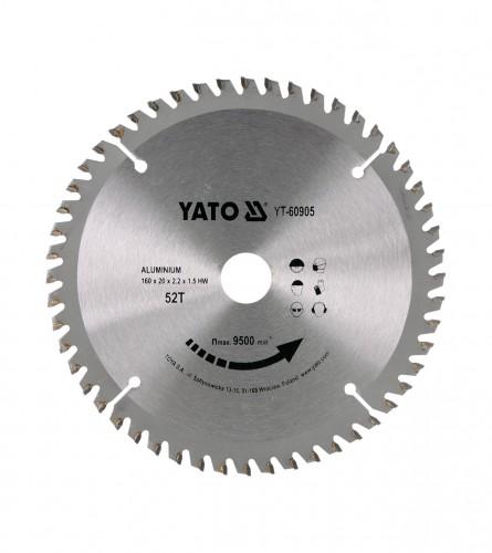 YATO List kružne pile za aluminij 160x20 YT-60905