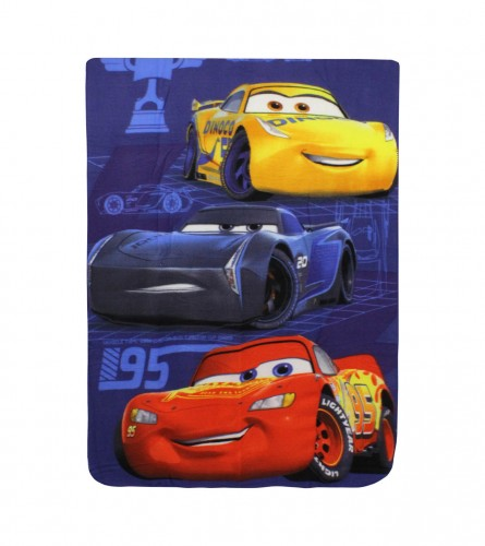 SETINO Deka dječija flis 140x100 Cars