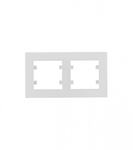 HAGER Okvir dvostruki horizontalni Intese Hager WL5720