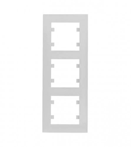 HAGER Okvir trostruki vertikalni Intese Hager WL5630